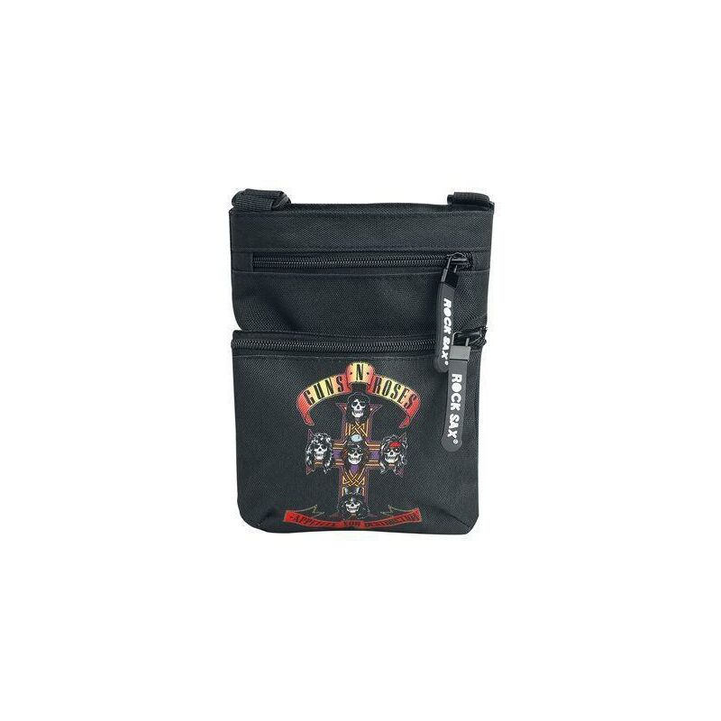 Image of Guns N' Roses Appetite for Destruction Shoulder Bag Black - LASGO