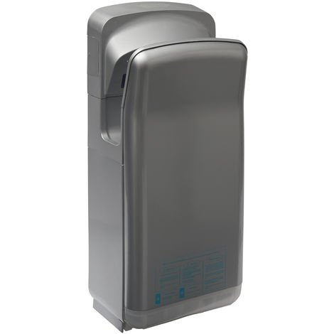 Gusto Vertical Electric Hand Dryer - Grey