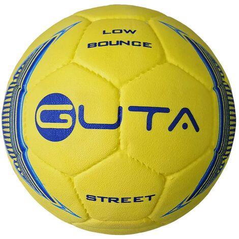 GUTA Ballon de football de rue à bas rebondissement Jaune Taille 3,5