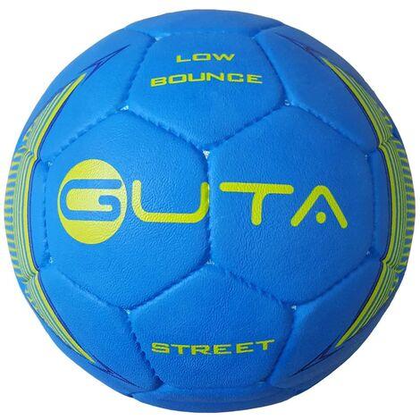 GUTA Ballon de football de rue Lowbounce Bleu Taille 3,5