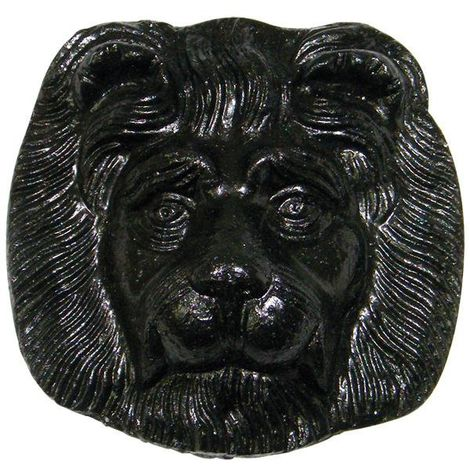 Gutter Motif Lions Head - Standard 52mm Cast Iron Effect