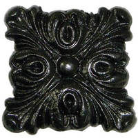 Gutter Motif Square Decorative - Small 40mm Cast Iron Effect
