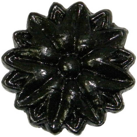 Gutter Motif Tudor Rose - Standard 52mm Cast Iron Effect