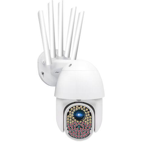 GUUDGO 82 LEDs 1080P 2MP IP Caméra de Surveillance Extérieur Sans fil Wifi étanche IR Vision nocturne CCTV 5 Antenne EU PRISE