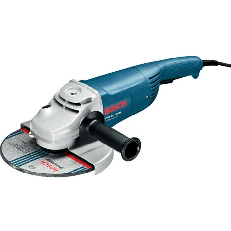 """GWS 22-180 H - 2,200W Professional Compact Angle Grinder 180mm 7"""" 0601881L63 / 0601881L73."""