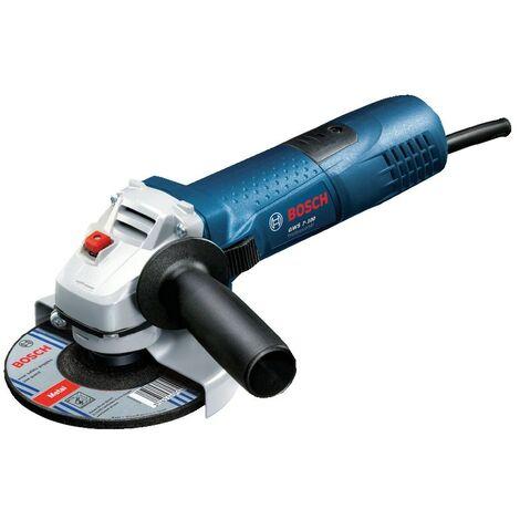 """GWS 7-100 4"""" 720W Slim Grip Angle Grinder 0601388163 / 0601388173."""
