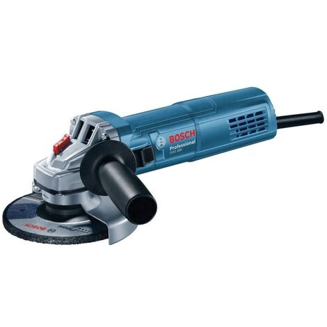 GWS 880 115mm Slip Grip Angle Grinder 880W with Diamond Cutting Disc in Carry Case.