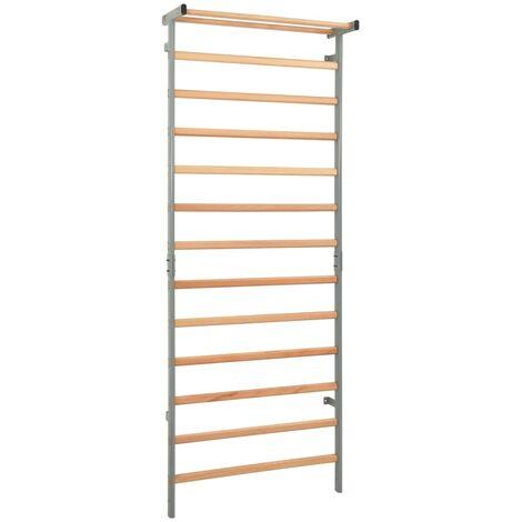 Gymnastic Climbing Rack Indoor Outdoor 90x30x236 cm