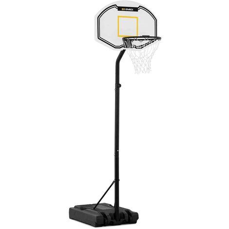 Gymrex Panier De Basketball Basket Sur Pied Panneau Hauteur 190 à 260 cm
