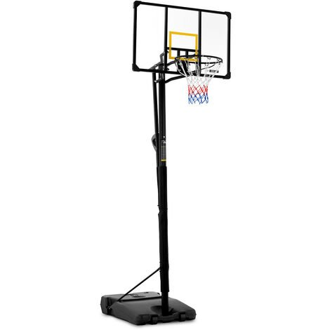 Gymrex Panier De Basketball Basket Sur Pied Panneau Hauteur 230 à 305 cm