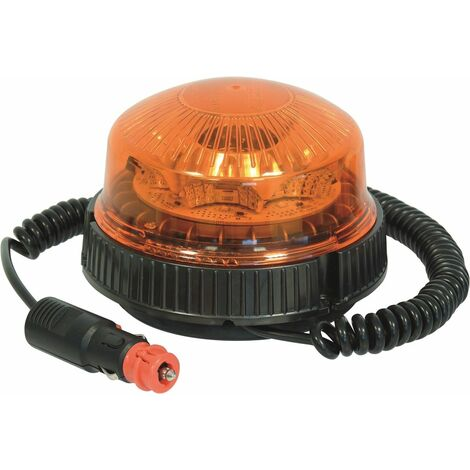 Gyrophare 8 LED rotatif TOPCAR 17056