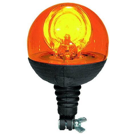 Gyrophare BOULE Tige flexible 12/24 V