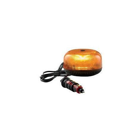 Gyrophare CRYSTAL magnétique flash - H. 74 mm