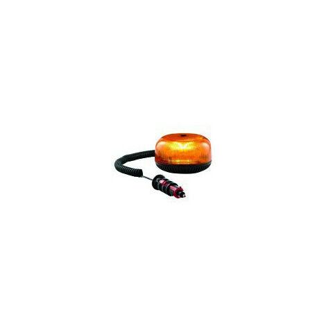 Gyrophare CRYSTAL magnétique tournant - H. 74 mm