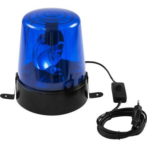 Gyrophare Eurolite 50603027 E14 Puissance: 24 W bleu bleu