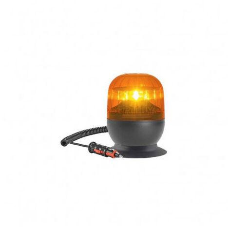 Gyrophare EUROROT magnétique flash - IP55 - H. 120 mm - Ø 148 mm