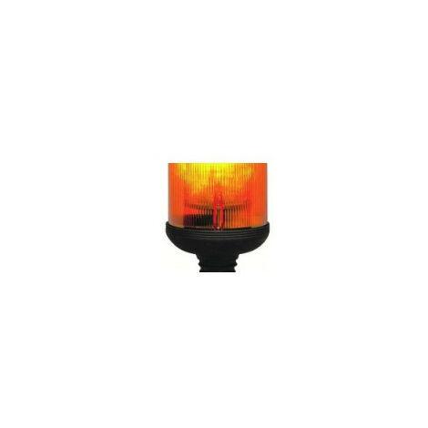 Gyrophare GF 8.8 tige flexible orange H1 24 V