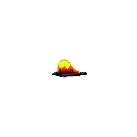 Gyrophare GOUTTE D´EAU à poser orange H1 12 V