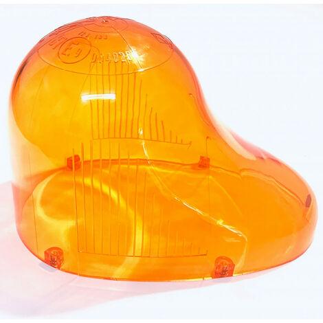 Gyrophare GOUTTE D´EAU cabochon orange