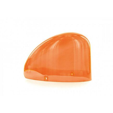 Gyrophare GOUTTE D´EAU magnétique cabochon orange