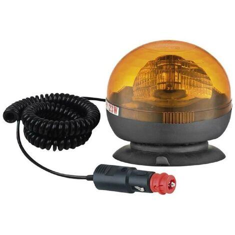 Gyrophare Gyroflash Magnetique H1 12-24 V Turbocar