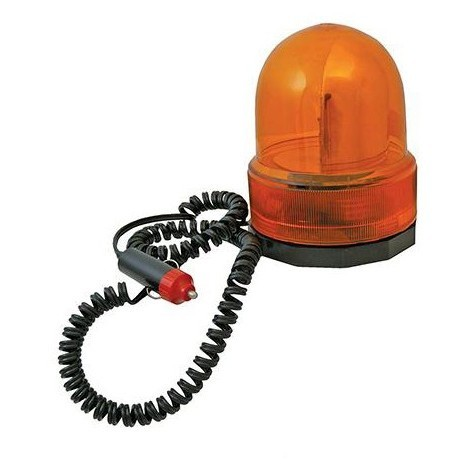 Gyrophare orange 12 V - 633728 - Silverline - -