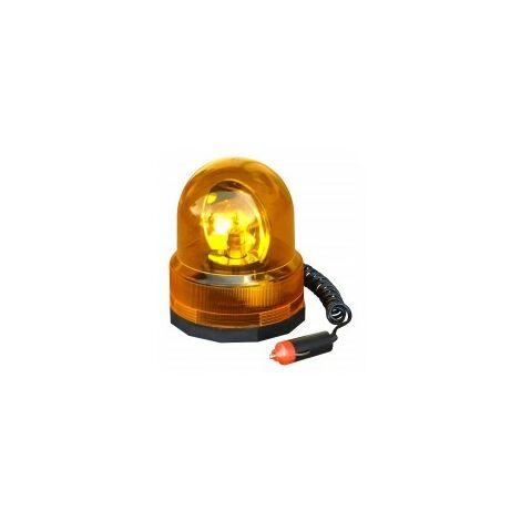 Gyrophare Orange Magnetique 12V