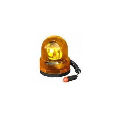 Gyrophare orange magnetique 12v633728
