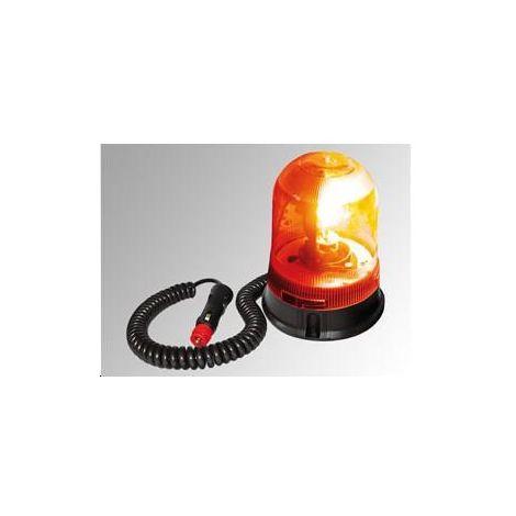 Gyrophare Orange Socle Magnétique Apa