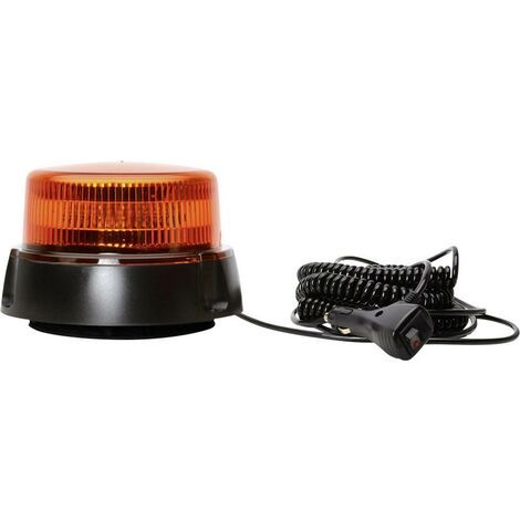 Gyrophare WAS W112 852.2 12 V, 24 V orange 1 pc(s)