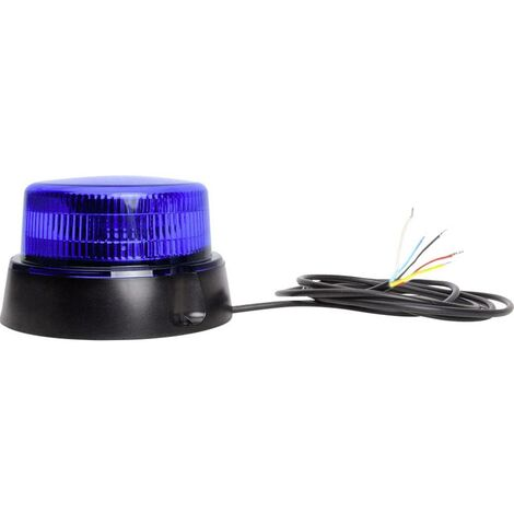 Gyrophare WAS W126 Double Flash 867.4DSYNC 12 V, 24 V bleu 1 pc(s)