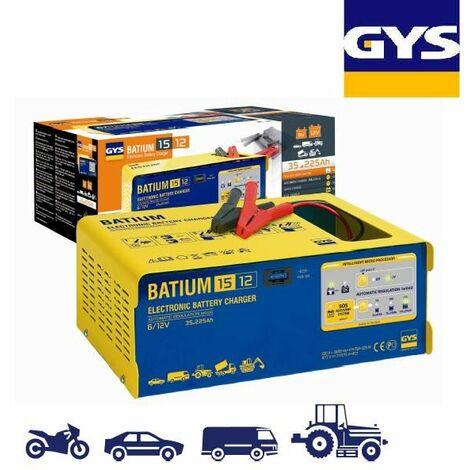 Gys - Chargeur batterie automatique 35 à 225ah - Batium 15.12