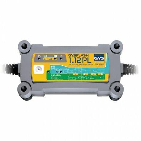 GYS Chargeur batterie plomb/lithium 12V GYSFLASH 1.12PL - 026902