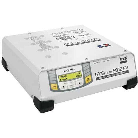 GYS Chargeur BSU plomb/lithium 12V GYSFLASH 50.12 FV - 026056