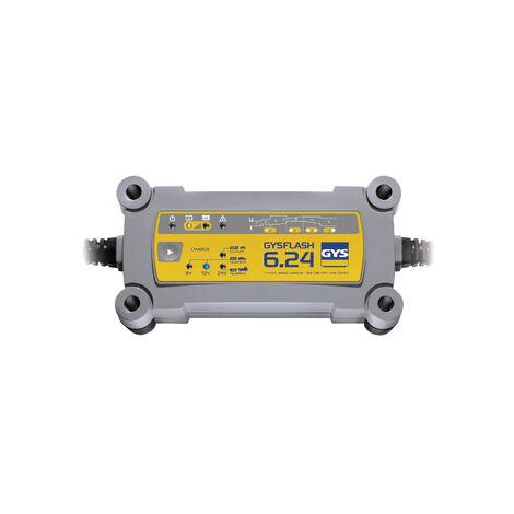 Gys - Chargeur de batterie 6/12 V et 24 V - GYSFLASH 6.24