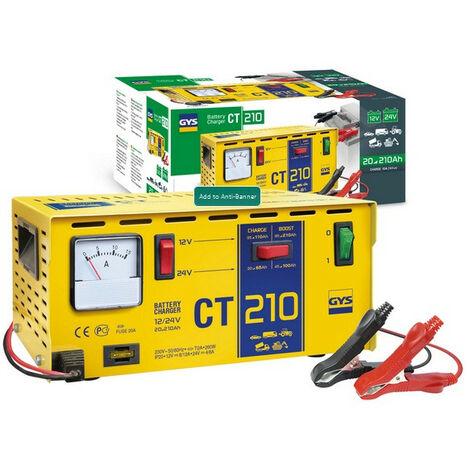 Gys - Chargeur de batterie traditionnel 12-24V 260W - CT 210