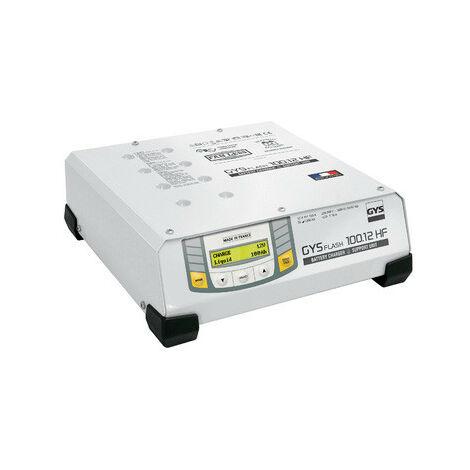 Gys - Chargeur inverter de batterie HF 12 V 100 A de 20 à 1200 Ah avec câble 2.5 m - GYSFLASH 100.12 HF
