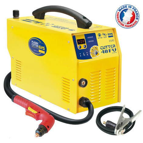 Gys - Découpeur plasma flexible voltage 85-265V coupe max. 15mm - CUTTER 40 FV