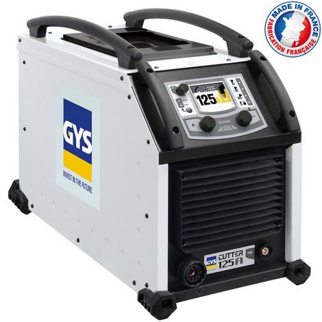 Gys - Découpeur plasma triphasé 400V coupe max. 57mm - CUTTER 125A TRI