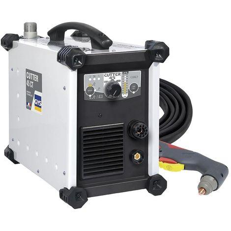 Gys - Découpeur plasma voltage 85-265V coupe max. 15mm avec torche - CUTTER 45 CT - TNT