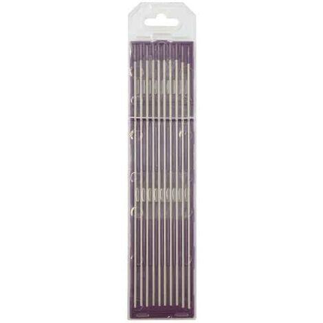GYS Lot de 10 électrodes Tungstène E3 - 0467