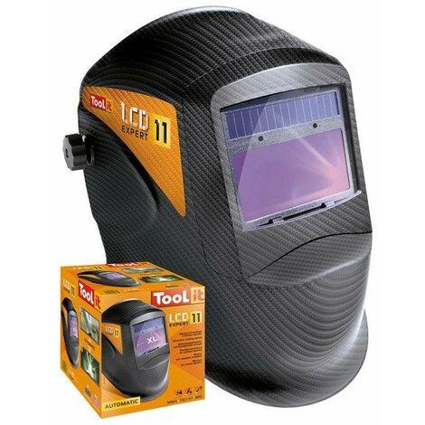 Gys - Masque de soudge solaire peint réfléchissant à cristaux liquides - LCD Expert - TNT