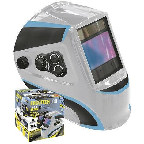GYS Masque soudeur LCD ERGOTECH 5-9/9-13 SILVER - 0447173