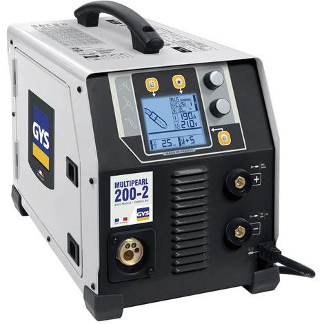 GYS Poste à Souder Multipearl 200-2 - Avec Accessoires - 031944