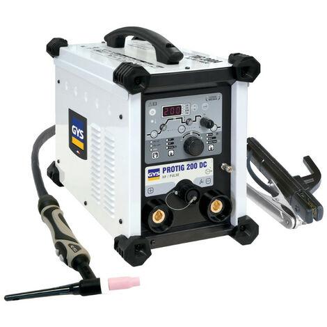 GYS Poste à Souder Protig 200 Dc Hf - Avec Accessoires - 062009