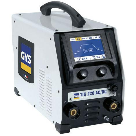 GYS Poste à Souder Tig 220 Ac/Dc Hf Fv - Sans Accessoires - 011908