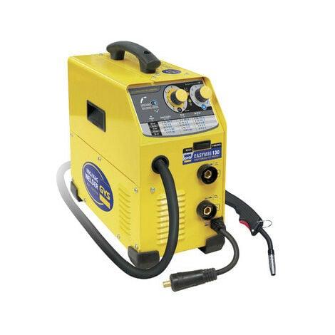 Gys - Poste de soudage inverter 230 V semi-automatique MIG/MAG 130 A 3 en 1 - EASYMIG 130