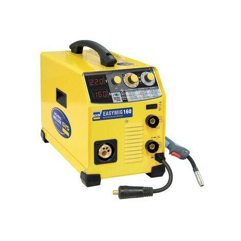 Gys - Poste de soudage inverter 230 V semi-automatique MIG/MAG 160 A 3 en 1 - EASYMIG 160 - TNT