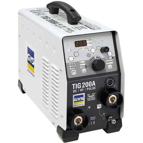 GYS Poste de soudure TIG 200 DC HF FV - 011533