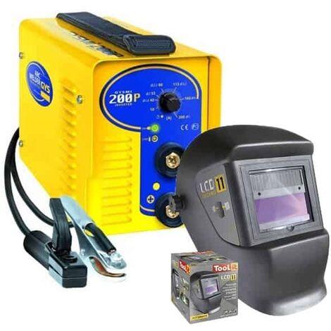 GYS Poste MMA Inverter GYSMI 200P + Masque LCD TECHNO 11 - 029965